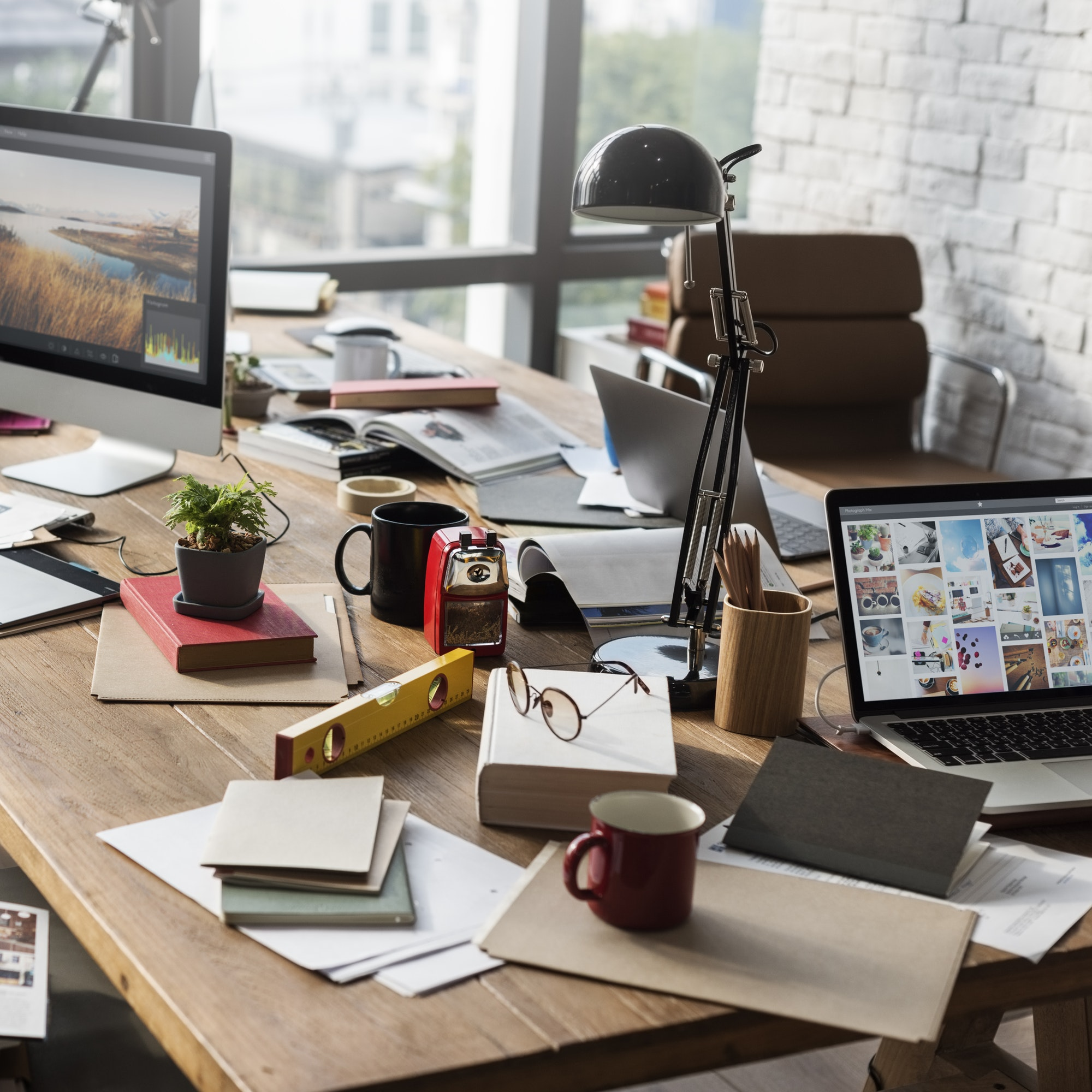 Home Office Appliance Workspace Workplace Concept